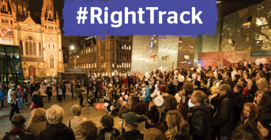 Getting on the #RightTrack in 2017