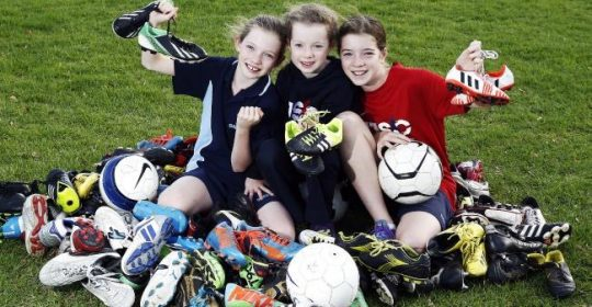 Old soccer boots give new life to ASRC soccer team, The Seekers