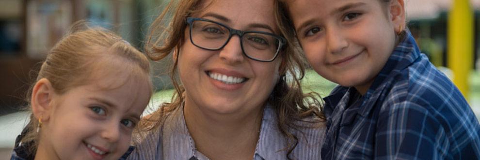 Iraqi refugee family