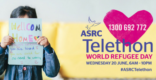 Get ready for ASRC's World Refugee Day Telethon