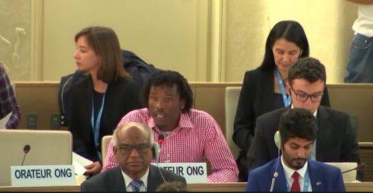 Abdul Aziz statement to the UN on Australia's cruel offshore processing