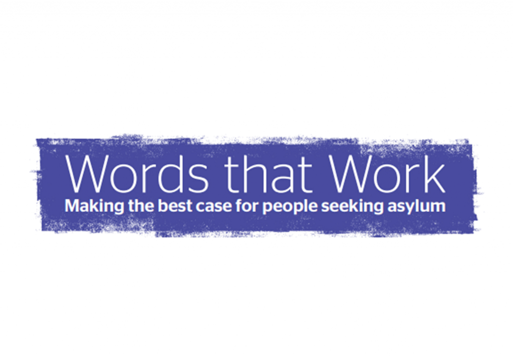 Words that work: making the best case for people seeking asylum