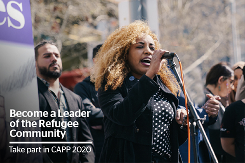 Become a Leader of the Refugee Community CAPP 2020