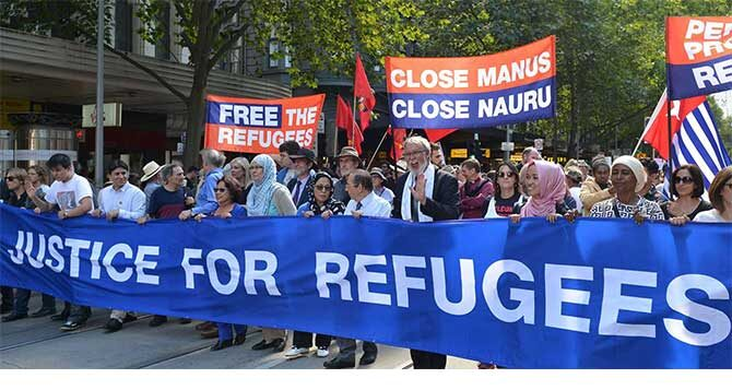 World human rights day shines light on Australian Government's abusive policies towards people seeking asylum and refugees