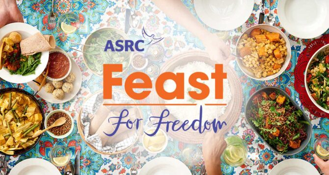 Feast for Freedom 2021:  26th – 28th March
