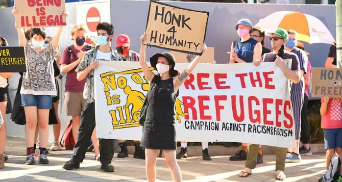 Refugees with visas cancelled on character grounds to be held in indefinite detention under new law rushed through Parliament
